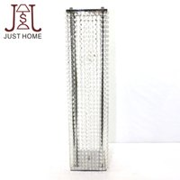 0.7-0.9M 4pcs / lot Mode Luxe Cristal Route Mariage Lead Party Decoration Mariage Invitations Backdrop SL-32211