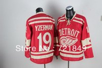 Wholesale Dry Ice Delivery - 2014 Free delivery top quality 5-9days Free shipping 2014 Winter Classic Ice Hockey Jerseys Detroit Red Wings ##19 Steve Yzerman