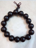 Wholesale A1 Wood - Ebony diameter 15 mm15 Buddha hand round bead chain, in-kind shooting, if you are the one A1