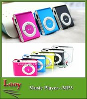 Wholesale Micro Chip Reader - In Stock! Cheap MP3 Player Mini Chip 8 Colors Sport mp3 Music Players with Earphone, USB Cable, Retail Box, Support Micro SD TF
