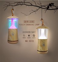 No outdoor table diy - Creative Colorful Wood Grain Small Night Light Portable USB Flash Lamp Camping Outdoor LED Light Hanging Light Indoor Touch Table Lamp