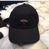 beyaz şapkalı şapka toptan satış-2016 Yeni bboy NOAH Peaked Kapaklar Beyaz Beyzbol Kapaklar Outdoors Snapback Kavisli Ağız Snapback Kapaklar Hip Hop Şapka Chapéu Erkekler Kadınlar Casquette PPMY