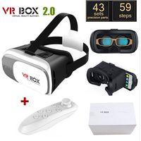 ingrosso realtà virtuale google 3d cartone in plastica-Head Mount Plastic VR BOX Case II 2.0 Versione VR Occhiali per realtà virtuale Rift Google Cartone 3D Movie per 3.5
