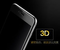 Wholesale Iphone Corning Gorilla - Free shipping good quality corning glass 3D full cover tempered Glass Screen Protectors For Iphone 7 7plus Explosion Shatter gorilla glass