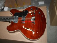 Alta qualidade Brown 335 Electric BASS 4 strings bass Atacado a partir da China