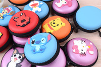 Wholesale Kids Knit Purse - New Cartoon purse PU waterproof cute coin purse party Kids purse bag children wallet headset bags,Kids Purses Handbags
