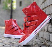 sapatas justin do bieber venda por atacado-2015 Moda Justin Bieber sapatos famosos estrelas hip hop sapatos de dança de rua de alta top sapatos casuais Eru 35-44