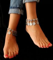 Wholesale Cheap Crosses Jewellery - 2017 bride jewelry!wholesale anklets,sweet Metal coin tassel anklets,Drop shipping fashion cheap jewellery,Holiday decoration.XQ
