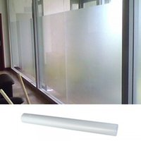 Compra Finestra Di Pellicola Smerigliata Privacy-L'alta qualità del rullo bianco satinato Privacy Glass Window Film 0.5x3m ordine $ 18no pista