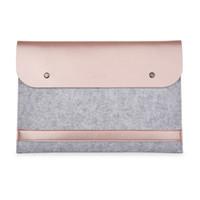 apple воздушный книжный шкаф оптовых-Ноутбук лайнер кожаный чехол сумка для Apple Macbook Air Pro Retina 11 12 13 15 ноутбук для Mac book 13,3 дюйма