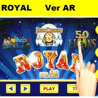 Wholesale Dream Boards - 2015 New touch casino boards gambling slot boards WMS 3 in 1 Royal boards AR version 50 lions queen of nile indian dream