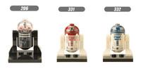 Wholesale robot toys sale resale online - 600pcs XINH332 Bricks R2 D2 Robot Single Sale mini building blocks figuresThe Force Awakens R2D2 Figures Toys