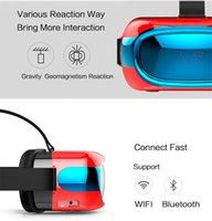 20 VR Box Head Mont Plastic VR Réalité Virtuelle Lunettes BT Wifi RK3126 1 Go / 8 Go Android 5.1 mobile 3D Cinema tout-en-un 3D Movie Game Glasses