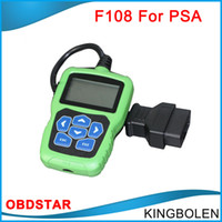 Wholesale Psa Peugeot - Original OBDSTAR F108 PSA Pin Code Reading and Key Programming Tool for Peugeot   for Citroen   DS car key maker tool DHL free Shipping