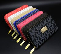 Wholesale Manufacturer Key - Welcome famous designer brand of high-grade men and women fashion wallet long zipper bag manufacturers selling high quality wallet
