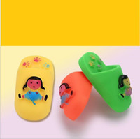 Wholesale safe dog chew toys online - Pet Cat Dog Chew girl shoes Elastic sound baby slippers shoes Toys Safe Plastic Pet puppy sound interactive toy Educational Toys
