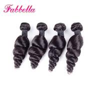 perulu dalga saç uzantıları toptan satış-En iyi Saç Uzantıları 9A İşlenmemiş İnsan Saç İNGILTERE Saç Örgüleri Perulu Gevşek Dalga Bakire Saç Atkı Doğal Siyah Ücretli