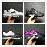 Wholesale Newest Sneakers Cheap - Cheap maxs 2017 Men running shoes Hot selling Original quality maxes 2017 cushion sneaker for mens Newest release sneaker 36-46