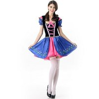 Wholesale Hot Uniforms Maid - 2017 Beer Festival Maid Dress Sexy Cosplay Halloween Costumes Uniform Temptation Traditional Club Party Clothing Hot Selling