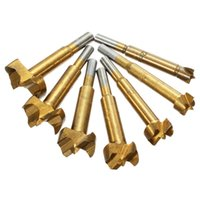 7pcs 12mm-35mm Forstner Hinge Hole Boring Cutter Wood Drill Bits