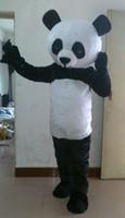 Wholesale Cartoon Character Costume Panda - HI High Quality cartoon character adult Panda Mascot Costume for sale,fancy dress mascot costume for party