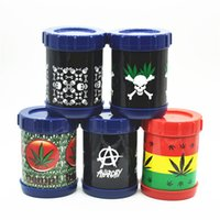 Wholesale Can Safes - Smoking Tobacco Pollen Presser Shaker Pollen Sifter Box New Micro Mesh Stash Can Safe Shaker 4.5