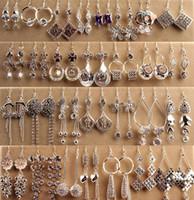 ingrosso orecchini di diamanti ipoallergenici-Orecchini di alta qualità moda ipoallergenico argento orecchini lunghi in scatola gioielli coreano orecchini di diamanti stile dea