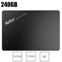 dahili disk sürücüsü toptan satış-Sıcak Netac N530S SATAIII SSD 240 GB 120 GB Dahili Katı Hal Sürücü Diski 2.5 inç SATA3 arayüzü daha hızlı HD Sabit Disk HDD