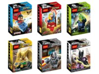 Decool Building Blocks Super Heroes Avengers Minifigures Justice League hawkman superman supergirl brainiac cyborg batman Figure