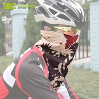 Wholesale Lycra Sports Headbands - New Cycling Masks Magic Scarf Mouth-Muffle Dust Dustproof Bicycle Outdoor Sports Road Cycling Mask Face Cover Headband H5043