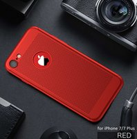 Wholesale Hybrid Cooling - Luxury Brand New Summer Air Cool Holes Shockproof Mobile Phone Hybrid 360 Degree Full Protection Slim Case For iPhone 8 7 Plus 6 6s Plus