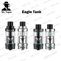 Wholesale original eagle - 100% Original GeekVape Eagle Sub Ohm Tank With Handbuild Coil Eagle Atomizer Standard Version and Top Airflow Version Vaporizer Atomizers