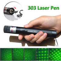 Wholesale High Burning Green Lasers - Hot New High Power High Power 303 Green Laser Pointer Pen Adjustable Focus 532nm Burning Lazer