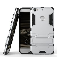 Wholesale Hybrid Cooling - For LE Pro 3Ai Cool 1 Dual Layer TPU +PC Back Capa Cover Hybrid Rocket Kickstand Hard Protective Cover