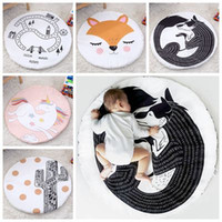Wholesale Kids Floor Mats Wholesale - 2017 ins crawling mat floor baby rugs playmat kids blankets fashion newborn blanket baby play mat carpet game nap mat cobertor wholesale