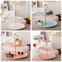 3 Tier bakeware Cake Plate Stand Handle Crown Fitting Metal Wedding Party Golden kitchen accessories cake decorating tools. NZ$1.21 & Cake Stand Handles Wholesale NZ | Buy New Cake Stand Handles ...