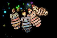 Wholesale Dachshund Cell Phone Dust Plug - Cute Colorful Painting Oil Owl Anti Dust Plug Cell Phone Accessories 3.5mm Earphone Dust Plug Dachshund For Iphone For Samsung