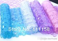 alfombra de baño de guijarros al por mayor-300 PCS DHL envío libre, alta calidad baño Pebble PVC antideslizante esteras Cobblestone Cushion tipo lechón antideslizante bañera Mat 0419xx