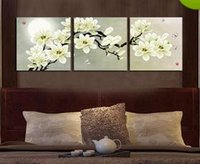 Wholesale Framed m34 Plum blossom panels Pure Handpainted Huge Modern fashion home Wall Deco Art Oil Painting On canvas