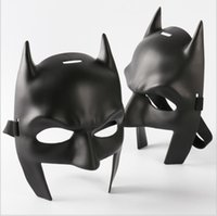 Wholesale Wholesale Adult Super Hero Masks - DC Super Heroes Batman Mask Men's Batman v Superman: Dawn of Justice Adult Half Mask Masquerade Cosplaly Face Mask Props One Szie