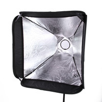 speedlight softboxes - PRO Portable quot cm Softbox For SpeedLight Flash Hot Shoe Soft Box Kit x40cm