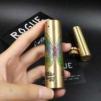 ingrosso i migliori mods elettronici di sigaretta-Il la cosa migliore Mod meccanico meccanico della batteria 18650 della sigaretta elettronica mod del MOD della farfalla di Rogue Rogue per 510 atomizzatori DHL liberamente