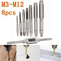 Wholesale Metric Threading Sets - M3-M12 Tap Handle Reamer Wrench Set Die Metric HSS Thread Repair Tool