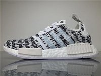 Wholesale Football Gods - 2017 Originals Nmd Shoes Fear of God X NMD Real Boost BA7247 Sneakers Men FOG Running Shoes NMD Runner with Original Box Boosts