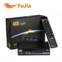 Wholesale Genuine V8 Super DVB S2 Satellite TV Receiver Support PowerVu Biss Key Cccamd Newcamd Youtube Youporn USB Wifi Set Top Box order lt no tra