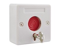 Wholesale Panic Button Alarm System - Small alarm NC NO options panic button plastic switch use for alarm system emergency swtich fire emergency button emer