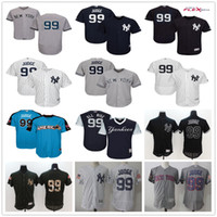 Wholesale Hot Sale Home - Nickname #99 Aaron Judge New York Yankees Home White Road Gray Away Blue Pull Down Stitched NY Baseball Jerseys Hot Sale