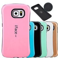 Wholesale Galaxy Case Korea - For Samsung S7 S7 Edge S7Edge IFACE Korea Style Hard Hybrid TPU Case Cover For Galaxy G9300 G930 G9350 G930F