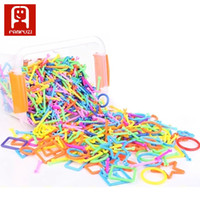 Wholesale Wisdom Smart - 400 PCS Smart children stick blocks variety wisdom puzzle toy intelligence toy particles top selling porducts