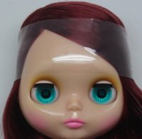 Wholesale Blythe Hair - hot sale BL- 210Nude Blythe doll lovely DIY toy birthday gift for UAS girls big4color eyes dolls beautiful hair